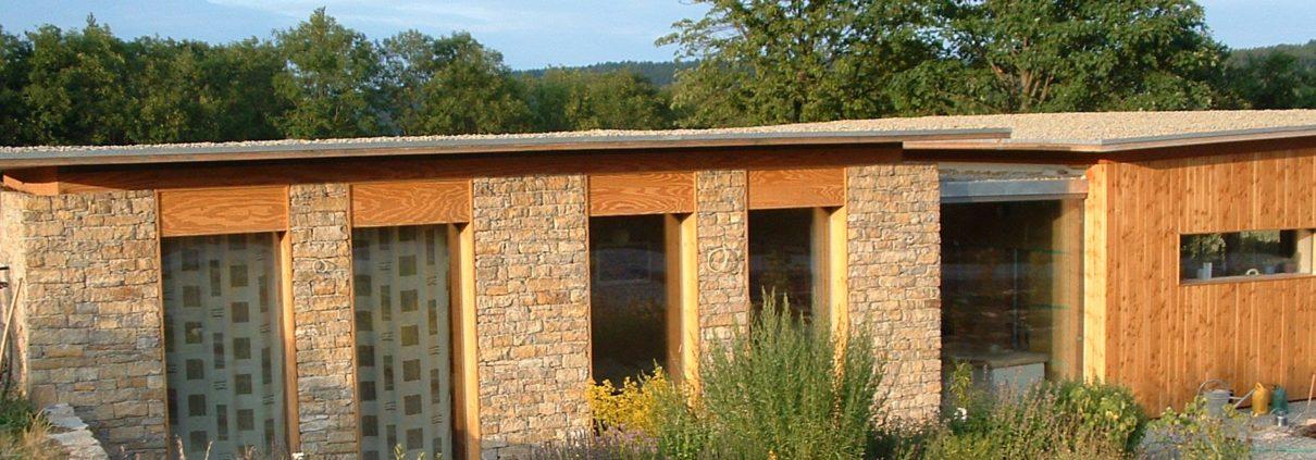 Fassadenverkleidung aus Naturstein