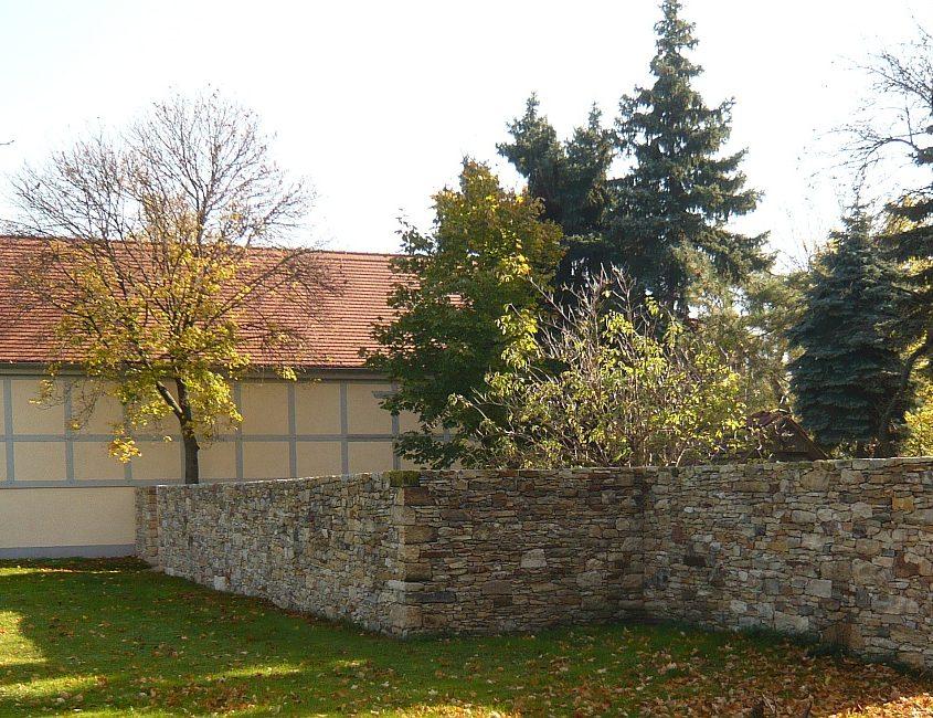 Mauer aus Bruchstein