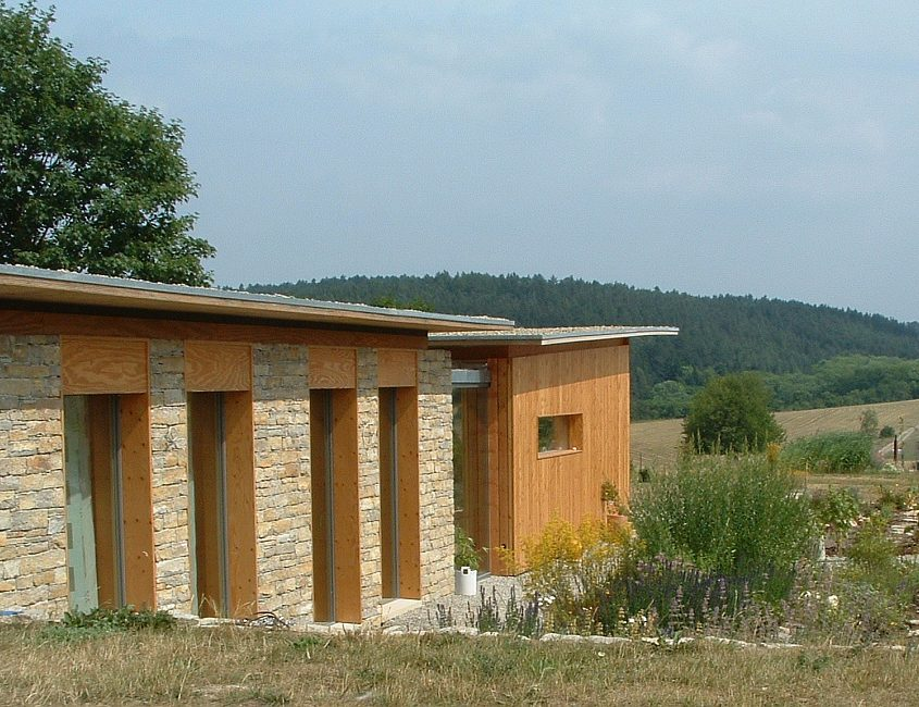 Fassadenverkleidung Naturstein