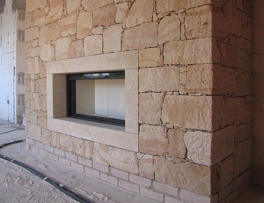 Kaminverkleidung Naturstein