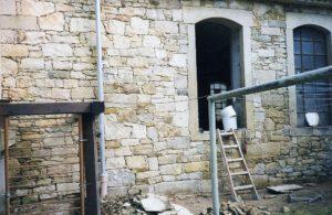 Restauration Sandstein
