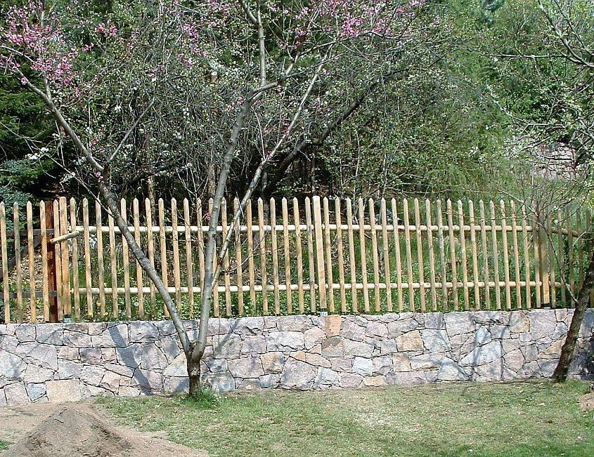Stützmauer Granit